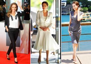 Angelina Jolie brilla con los neutros