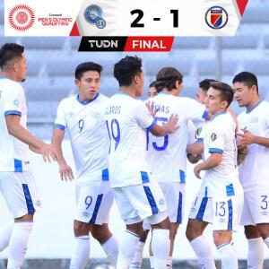 El Salvador hace la tarea 2-1 ante Haití y espera un 'milagro'
