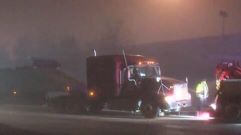 Neblina, uno de los factores que pudo causar mortal accidente en Houston