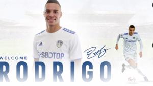 Valencia y Leeds hacen oficial el traspaso de Rodrigo al equipo de Bielsa