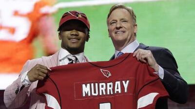 Kyler Murray fue la primera selección del Draft 2019 por los Arizona Cardinals
