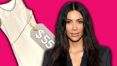 El polémico vestido plástico de 55 dólares de Kim Kardashian. Esto cuesta el look completo
