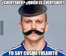 Los memes se burlan del Real Madrid por alineación de Cheryshev