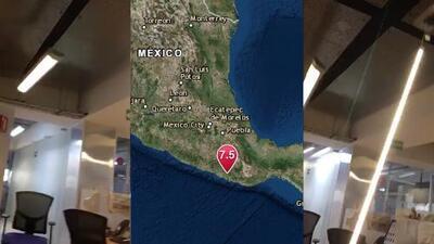 Aún en pánico, recibimos testimonio desde la Ciudad de México tras terremoto