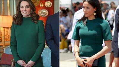 17 veces que Meghan Markle y Kate Middleton se vistieron igual: así resolvieron el gran desafío de estilo de las embarazadas