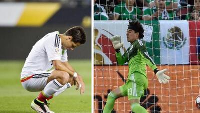 Las borradas figuras de México que nada pudieron hacer ante Chile