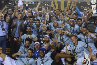 En fotos: Gremio se corona campeón de la Copa Libertadores de América