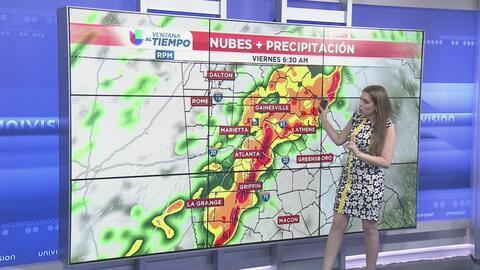 El jueves los cielos estarán parcialmente nublados y las tormentas severas llegarán el viernes