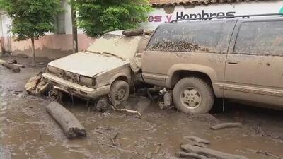 Recovery efforts started after an mudslide devastated San Gabriel, Jalisco