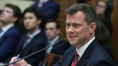 """El agente del FBI más criticado por Trump demanda a la agencia por despedirlo bajo """"presión presidencial"""""""