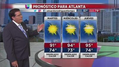 Pronostican martes caluroso y cielos despejados para este martes