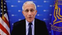 """Personas vacunadas tendrán """"un grado de normalidad"""", dice Dr. Fauci sobre el uso de mascarillas"""