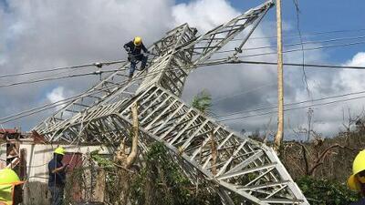 Gobierno asegura servicio eléctrico se estabilizó en la capital de Puerto Rico y esperan importante recuperación durante el fin de semana