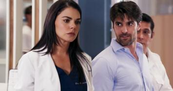 Sergio le armó un escándalo a Regina en el hospital tras provocarse una herida