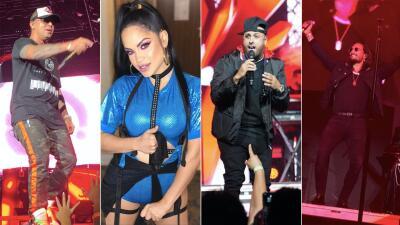 EN FOTOS: Revive el encuentro de las estrellas más grandes del género urbano de Latino Mix Live