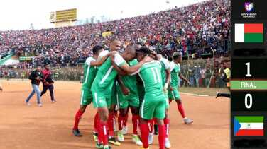 Madagascar clasificó por primera vez a la Copa Africana de Naciones