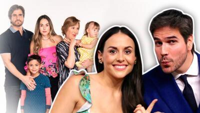 Zuria Vega y Daniel Arenas regresaron a 'Mi marido tiene más familia' y estas son las primeras imágenes