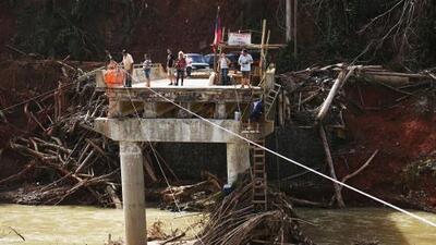 Sin luz, sin agua, sin internet: así se vive en Puerto Rico a un mes del huracán María