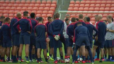 El Team USA ultima detalles antes de enfrentar a Chile en Houston