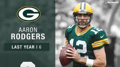 #6: Aaron Rodgers (QB, Packers) | Top 100 Jugadores 2017