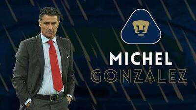 Oficial: Míchel es nuevo director técnico de Pumas