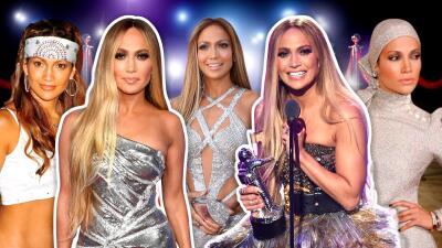 No nos bastan los 6 de anoche: todos los looks de JLo en los premios MTV VMAs