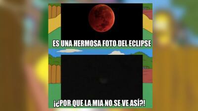 Los mejores memes por el eclipse lunar de sangre