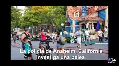 La familia que protagonizó brutal pelea en Disneyland podría enfrentar hasta siete años de cárcel