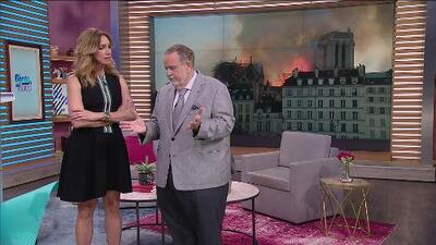 Raúl de Molina estaba en París poco antes del incendio en Notre Dame y así lo sorprendió la trágica noticia