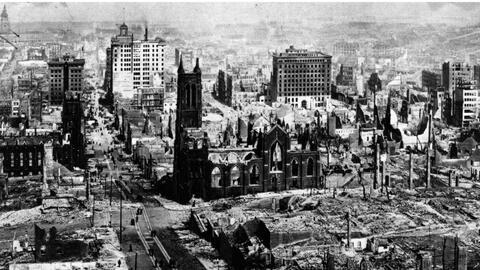 Se cumplen 112 años del destructor terremoto en San Francisco que cobró más de 700 vidas