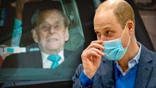 El príncipe William responde cómo se encuentra de salud el príncipe Philip, esposo de la reina Isabel