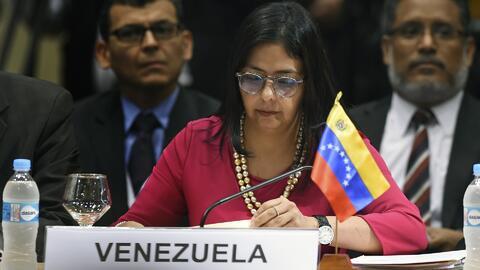 Canciller de Venezuela asegura que negocia con Leopoldo López para un traslado a prisión domiciliaria