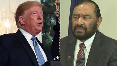 """""""Trump pudo declarar la emergencia nacional"""" por los tiroteos: congresista Green cuestiona al presidente"""