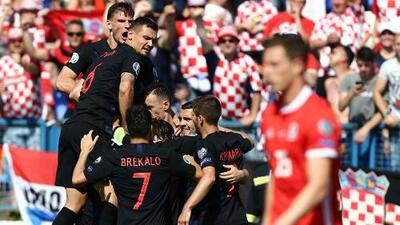 Croacia 2-1 Gales - RESUMEN Y GOLES - Grupo E - Clasificatorio Eurocopa 2020