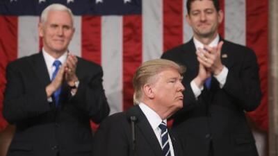 Cómo seguir el primer discurso del Estado de la Unión de Donald Trump