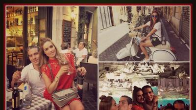 Galilea derrocha 'il amore' en Italia