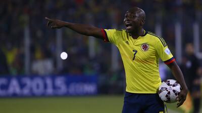 Arrestan a Pablo Armero de la selección de Colombia por violencia doméstica