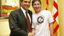 ¿Se queda Messi? Laporta afirma que el argentino lo felicitó