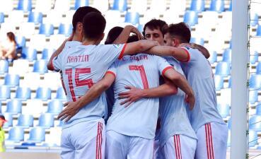 En fotos: España revivió en el Europeo Sub-21 al ganarle a Bélgica