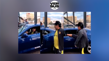 """Maradona y su Camaro en Culiacán: """"Dile a Jorgito que me lo compre"""""""