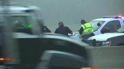 Accidente fatal en la I-45