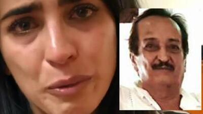 """""""Ruego a Dios que elija vivir"""": Bárbara de Regil suplica por su padre"""