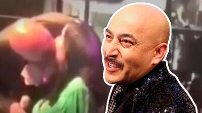 """""""Puedo besar a quien me de mi regalada gana"""": así responde Lupillo Rivera luego de besar en la boca a una fan"""