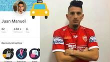 El futbolista que dejó su taxi para fichar por club argentino