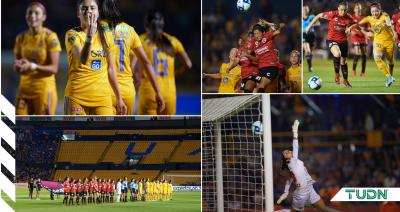 ¡Muestran las garras! Tigres Femenil golea a Tijuana y avanza a Semifinal