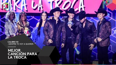 Ellos fueron los grandes ganadores de Premios Juventud 2017
