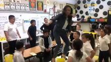 En video: maestra en el norte de California se viraliza tras verse cantando y bailando con sus estudiantes