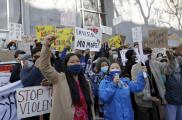 Cientos de personas marchan por las calles de San Francisco en contra de la violencia a la comunidad asiática