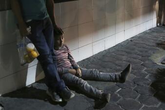 📸 Los migrantes centroamericanos que son devueltos de EEUU y abandonados en México