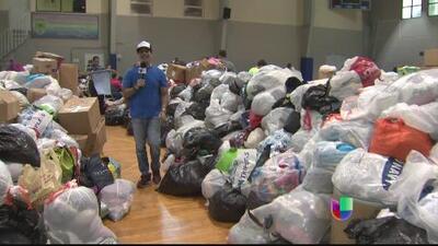 Puertorriqueños donan artículos de primera necesidad para afectados por el huracán Irma en Antillas Menores